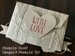 Stampin' Up! Bear Hugs Bundle, Merry Christmast, Gift Card Holder, #stampinup, #Bears #giftcardholder