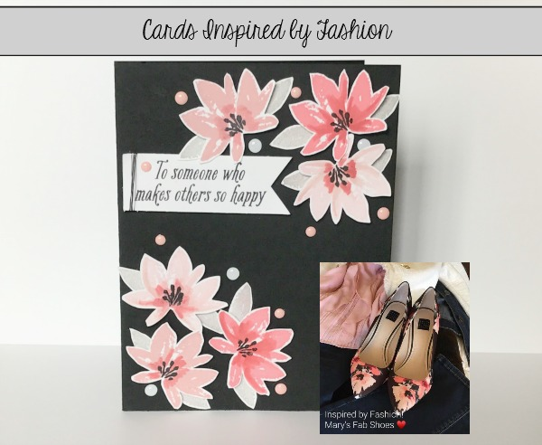 Stampin' Up! Avant Garden SAB, Fashion, Stampin' Up! 2017 Sale-a-bration #maryfish #stampinup #happy