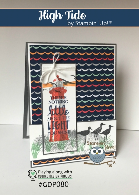 Stampin' Up! High Tide, 2017 Occasions Catalog, Stesha Bloodhart, Stampin' Hoot!