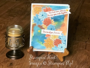 Retiring Stampin' Up! Oh So Succulent Photopolymer Bundle, Flowers, #Stampinup, Stesha Bloodhart, Stampin' Hoot!