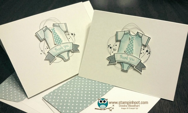 Baby Thank You Cards! A Perfect Gift for a New Mommy!