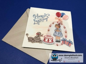 Birthday Delivery Bundle, Birthday Memories Suite, Stampin' Hoot! Stesha Bloodhart, Stampin' Up! #birthdaymemories #stampinhoot #stampinup #sneakpeek