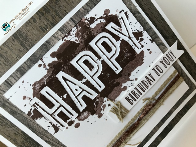 Masculine Happy Birthday Card,  Please Vote for Me!
