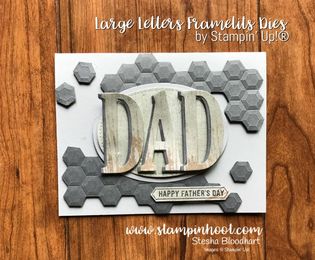 Father's Day Card for Tic Tac Toe Challenge #tttc002