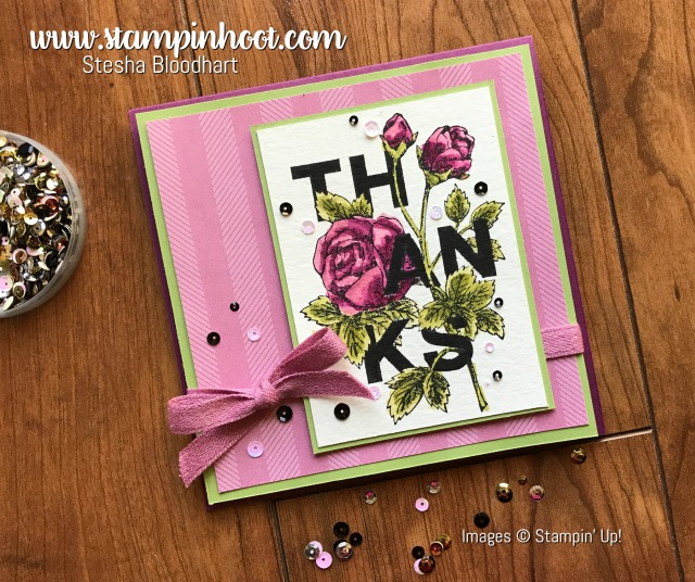Floral Statement Stamp Set is a New Favorite!
