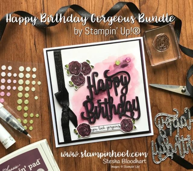 A Shimmery Happy Birthday Gorgeous