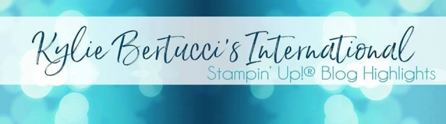 Kylie Bertucci's International Stampin' Up! Blog Highlights Masculine Theme May 2017, Vote for Me, Stesha Bloodhart, #bloghighlights #kyliebertucci #stampinhoot #stampinup
