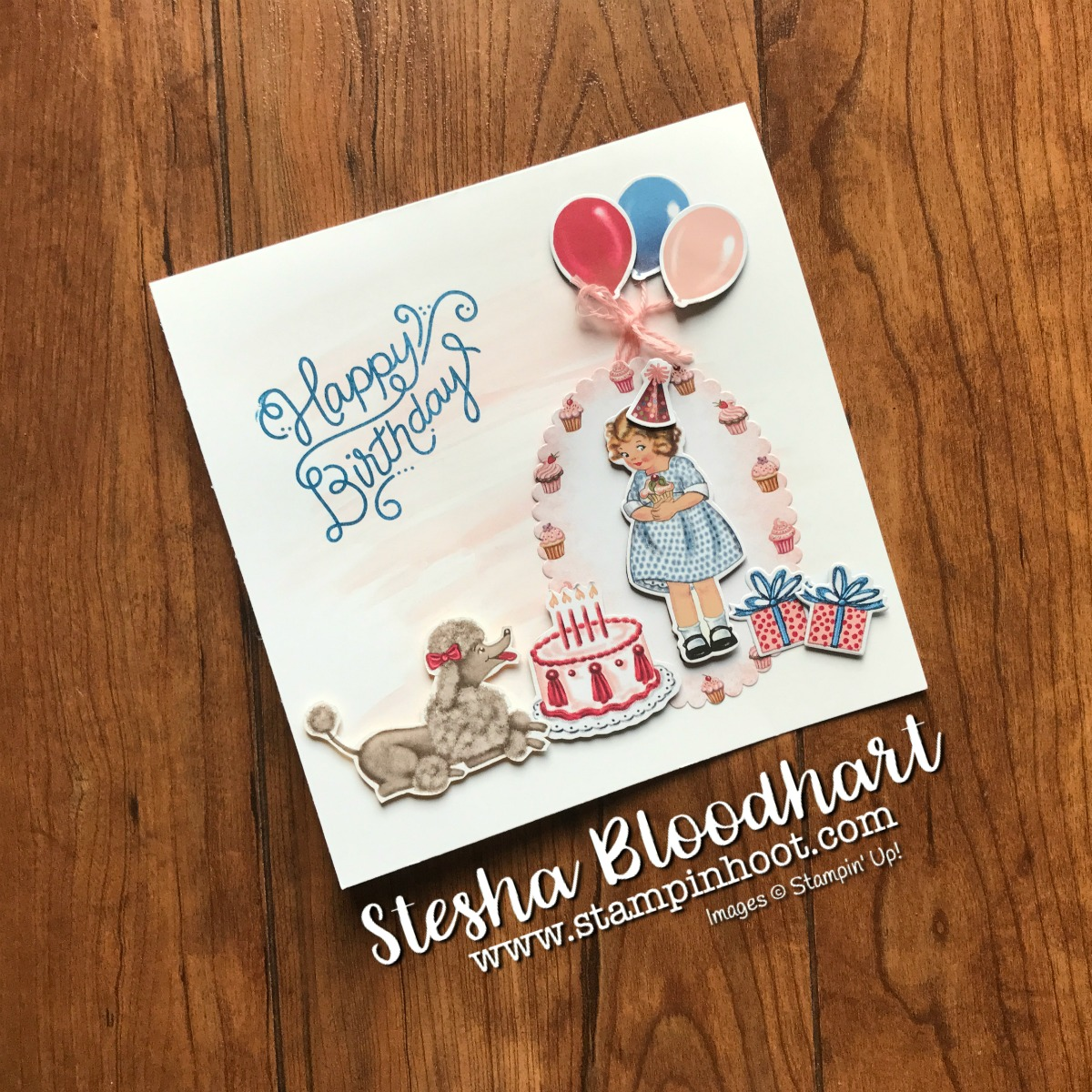 Birthday Delivery Photopolymer Bundle By Stampin Up Stamp Set And Friends