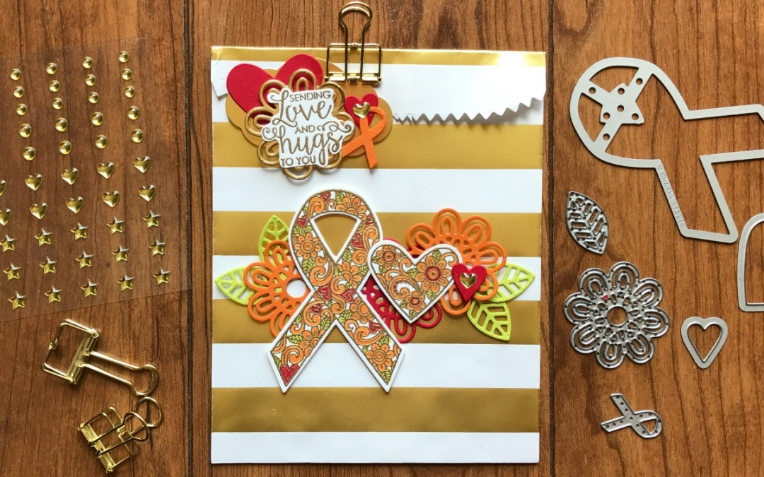 3-D Thursday – Ribbon of Courage Gift Bag