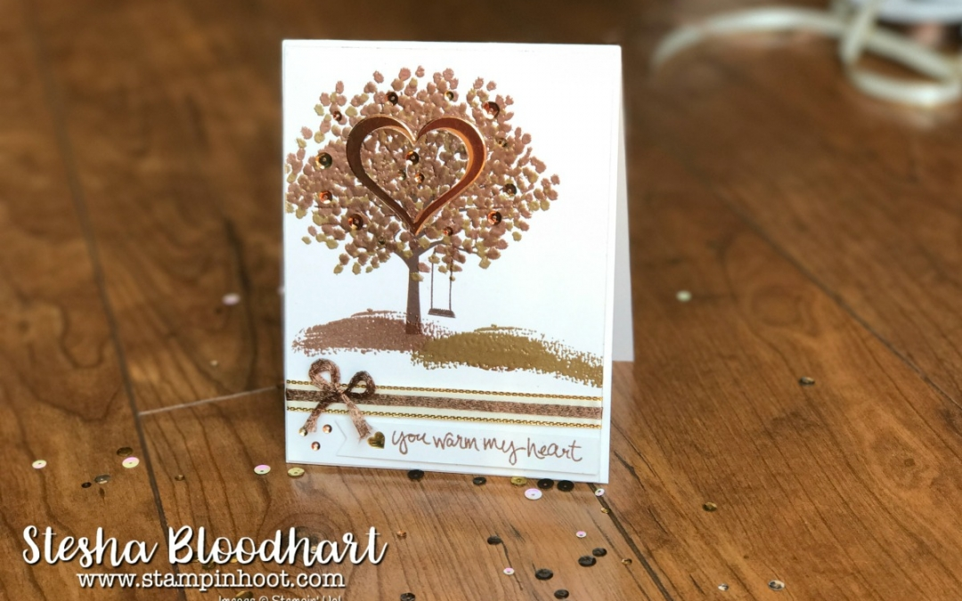 A Sheltering Tree Shines in Metallics