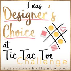 Tic Tac Toe Challenge Designer's Choice