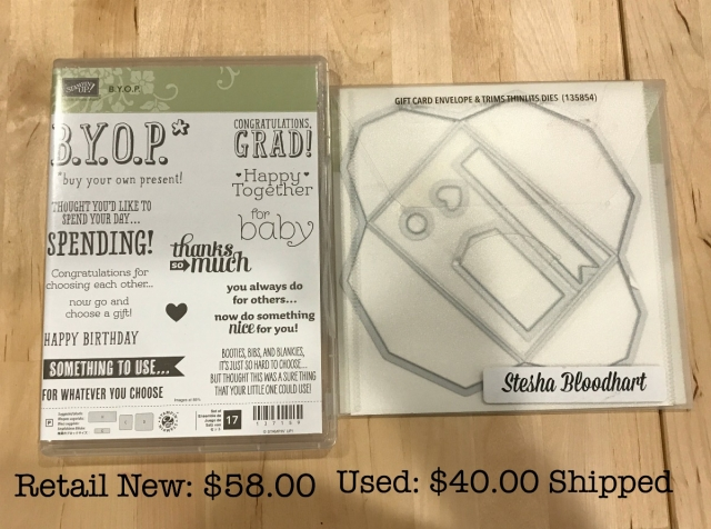 Stampin' Up! BYOP Bundle - Retired Product For Sale