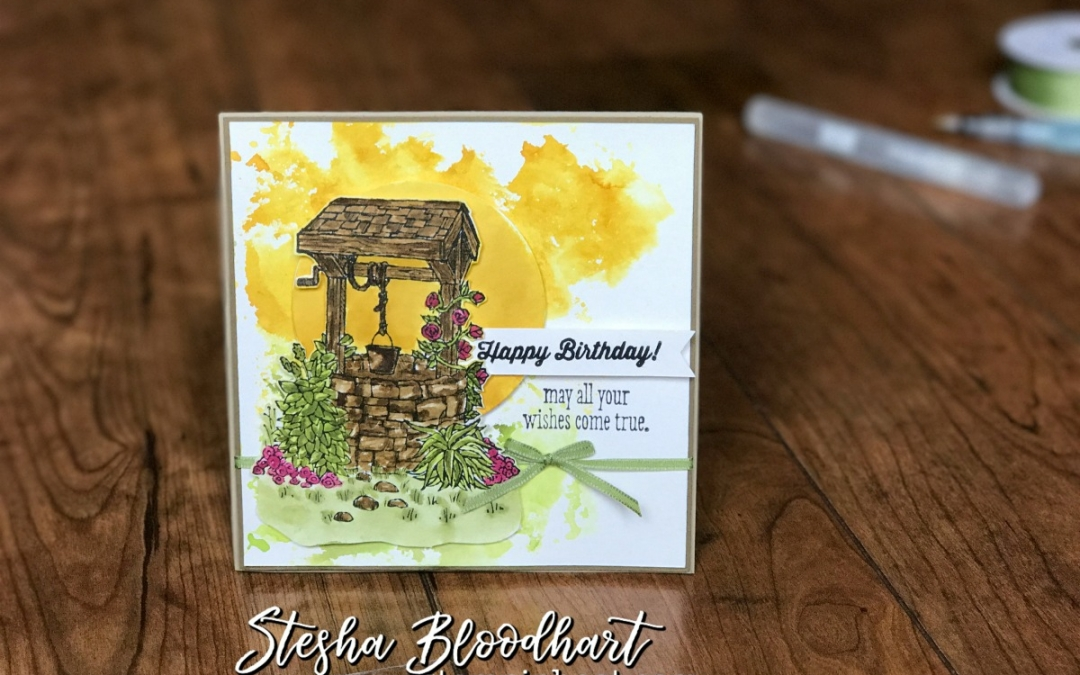 A Bright Wishes Birthday Card for CTS #234