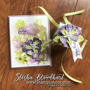 Bunch of Blossoms Stamp Set and Coordinating Blossom Builder Punch by Stampin' Up! Take front and center for my 3-D Thursday Blog Post. See details at Stampin' Hoot! Stesha Bloodhart #3dthursday #bunchofblossoms #blossombuilderpunch #lemonlimetwist #tinytreatboxes #stampinup #stampinupcards #demonstrator #cards #papercrafts #scrapbooking #rubberstamps #handmadecards #cardstock #handstamped #diy #cardmaking #imadethis #handmade #diycrafts #crafty #directsales #demonstrator #pocketsandpages #cardpacks #memoriesandmore #memories #stesha #watercolor #coloring #stampsinksdies #stampinhoot #steshabloodhart #bigshot #framelits #thinlits @stampinup
