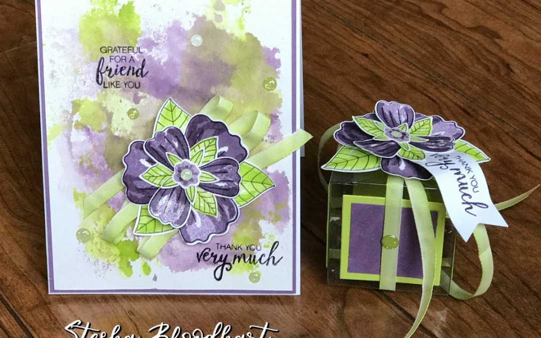 3-D Thursday: Bunch of Blossoms Gift Box