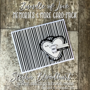 Bundle of Love Memories & More Card Packs by Stampin' Up! Make for Quick & Easy Cards-on-the-Go! No Stamps Necessary! See details on my blog! Stampin' Hoot! Stesha Bloodhart #memories&more #stampinup #stampinhoot #quickcards #papercrafts #scrapbooking #cardmaking #handmadecrafts #ididthis #demonstrator
