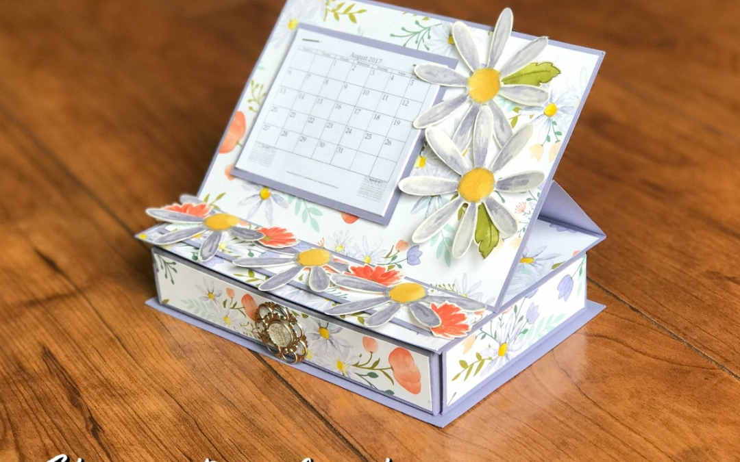 3-D Thursday: Daisy Delight Desktop Calendar
