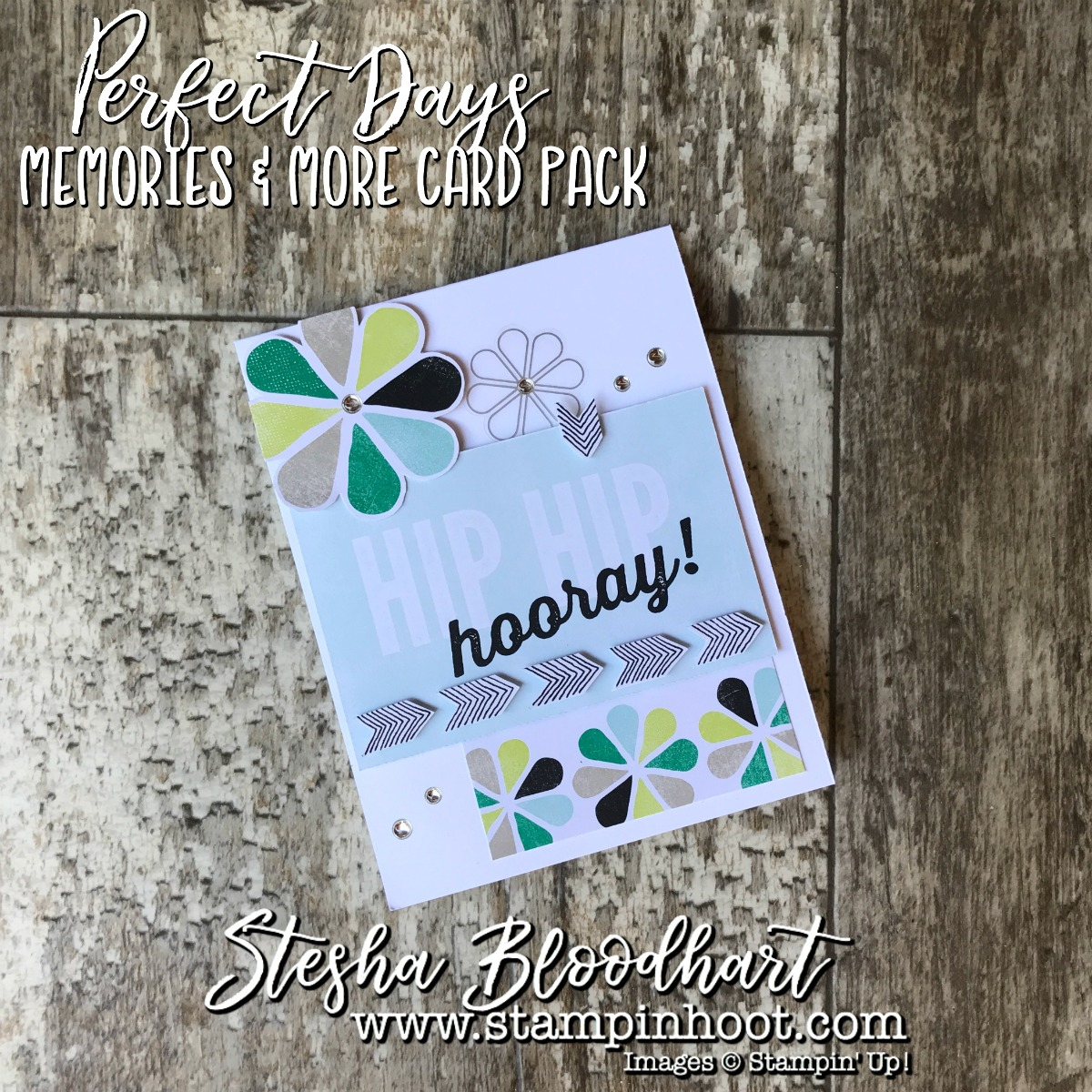 Perfect Days Memories & More Card Packs by Stampin' Up! Make for Quick & Easy Cards-on-the-Go! No Stamps Necessary! See details on my blog! Stampin' Hoot! Stesha Bloodhart #memories&more #stampinup #stampinhoot #quickcards #papercrafts #scrapbooking #cardmaking #handmadecrafts #ididthis #demonstrator