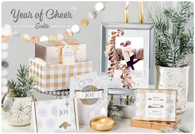 Year of Cheer Suite of Product from the Stampin' Up! 2017 Holiday Catalog. #stampinup #yearofcheer