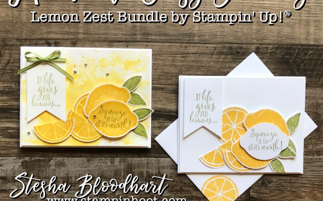 Hoot N' Easy Friday: Lemon Zest Squeeze