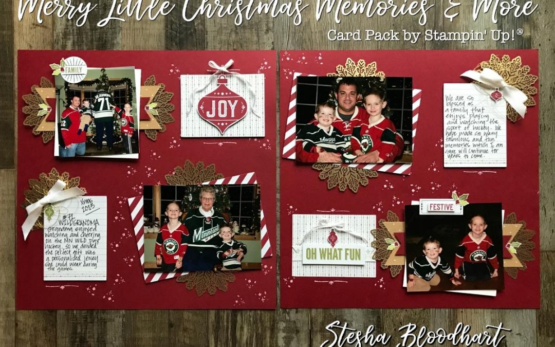 Scrapbook Sunday: Merry Little Christmas