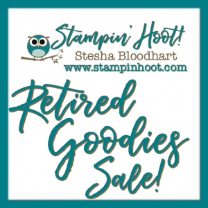 Retired Goodies Sale at Stampin' Hoot!