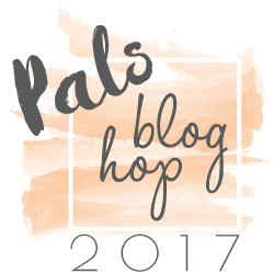 Pals 2017 Blog Hop Badge Peach #palsbloghop #bloghop