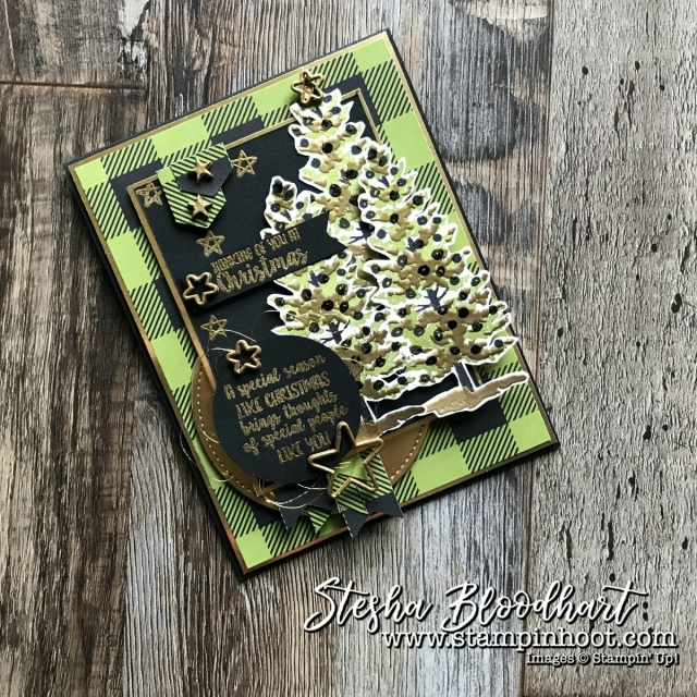 Season Like Christmas by Stampin' Up! for Global Design Project Guest Designer Color Challenge 109 Stesha Bloodhart, see details at Stampin' Hoot! #gdp109 #stampinhoot #steshabloodhart