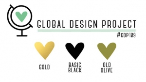 GDP109 Color Challenge Gold Black Old Olive #GDP109
