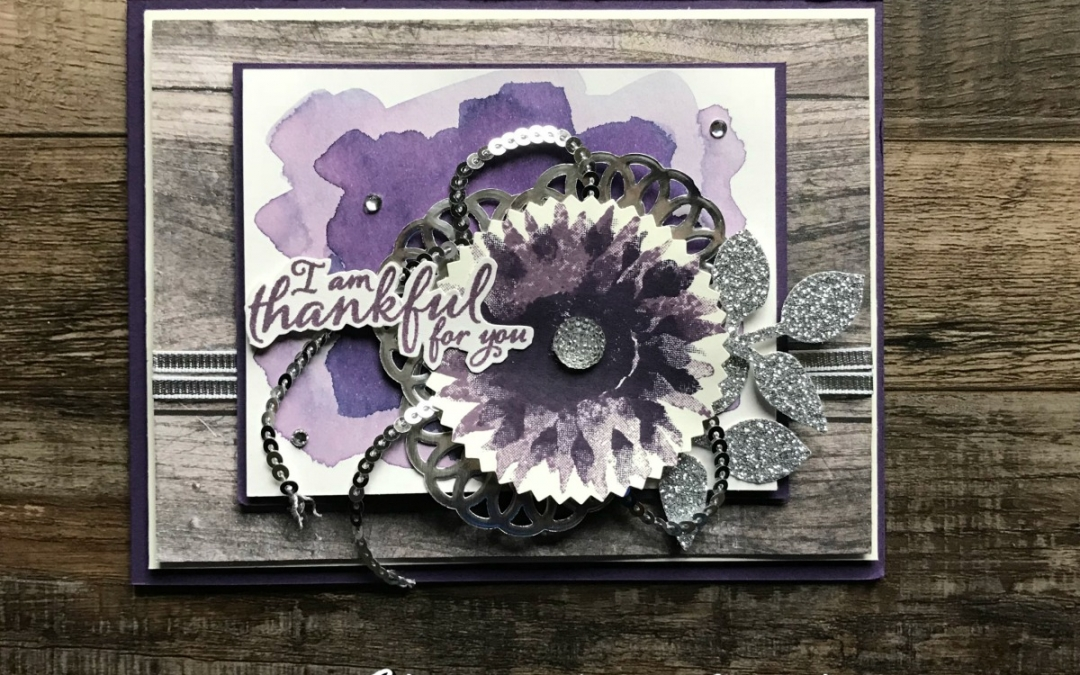 A Spin on the Painted Harvest Bundle – Silver and Purple