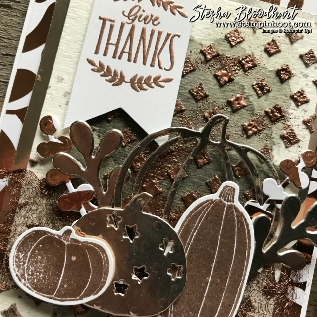 Pick A Pumpkin Bundle by Stampin' Up! for the Stamp Review Crew Blog Hop, See details at Stampin' Hoot! Stesha Bloodhart #pickapumpkin #stampreviewcrew #steshabloodhart #stampinhoot