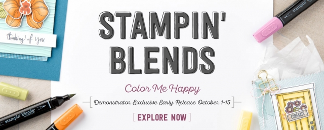 Stampin' Blends Demo Early Release