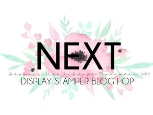 Stampin' Up! Display Stamper Blog Hop - OnStage Live November 2017 #onstage2017 #displaystamperbloghop #stampinhoot #steshabloodhart