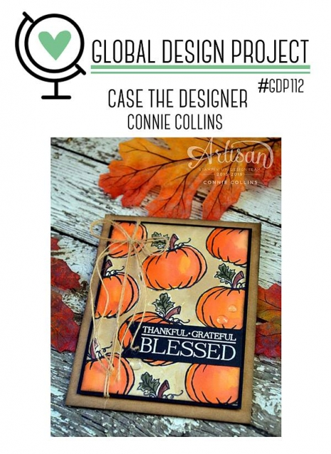 GDP112 Case the Designer Connie Collins #GDP112