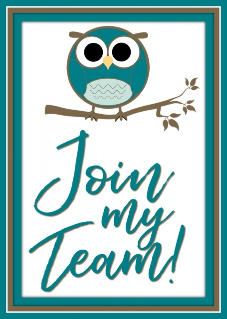 Join My Team, The Hootenannies. Stesha Bloodhart, Stampin' Hoot! Independent Stampin' Up! Demonstrator