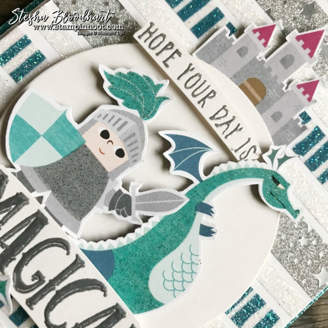 Myths & Magic Suite by Stampin' Up! 2018 Occasions Catalog for OnStage 2017 Display Board #stampinhoot #steshabloodhart #onstage2017 #mythsandmagic #magicalday