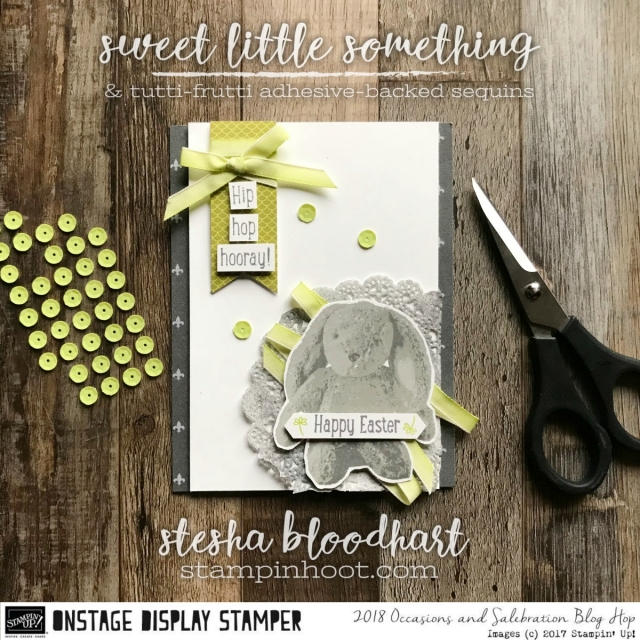 Sweet Little Something by Stampin' Up! for the 2017 SLC Display Stampers Blog Hop #displaystamperbloghop #sweetlittlesomething #steshabloodhart #stampinhoot