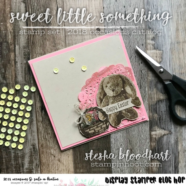 Sweet Little Something Stamp Set by Stampin' Up! from the 2018 Occasions Catalog for OnStage 2017 Display Stamper, Stesha Bloodhart, Stampin' Hoot! #stampinhoot #steshabloodhart #2017onstage