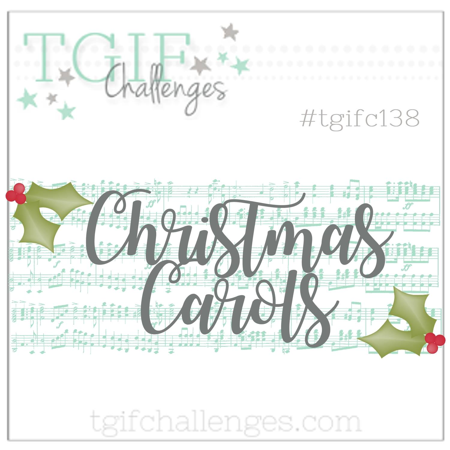 #tgifc138 Inspiration Challenge - Christmas Carols | Hearts Come Home Bundle by Stampin' Up! Card Created by Stesha Bloodhart, Stampin' Hoot! #steshabloodhart #stampinhoot