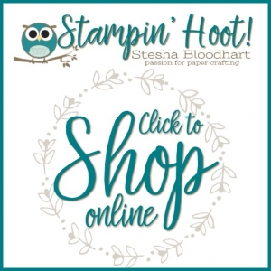 Stampin' Hoot! Click to Shop Stampin' Up! Products in my Online Store #stampinhoot #shoponline #steshabloodhart