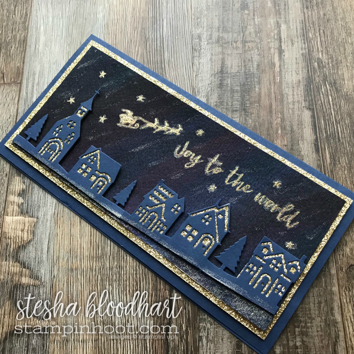 Hearts Come Home Bundle by Stampin' Up! in the 2017 Holiday Catalog for #tgifc138 Inspiration Challenge - Christmas Carols #steshabloodhart #stampinhoot