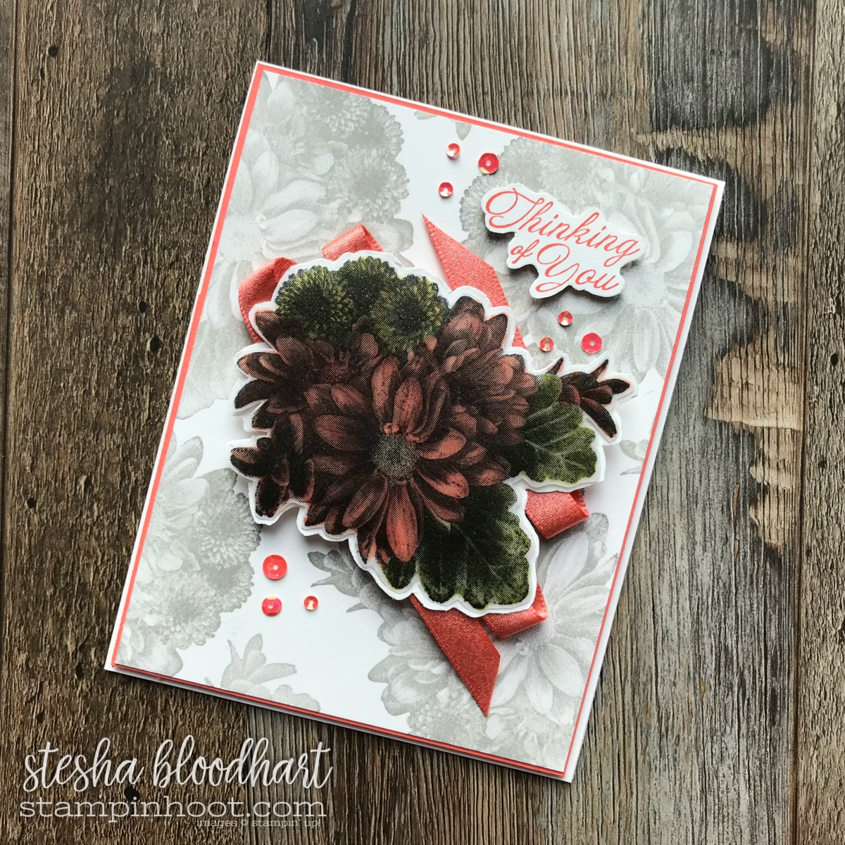 Heartfelt Blooms 2018 Sale-a-Bration Set Earned Free with $50 Purchase, Buy Online at Stampin' Hoot! Stesha Bloodhart #stampinhoot #steshabloodhart