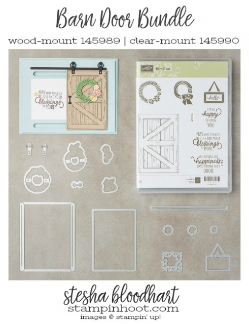 Barn Door Bundle by Stampin' Up!