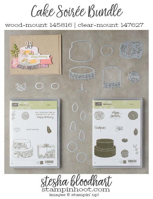 Cake Soirée Bundle by Stampin' Up! From the 2018 Occasions Catalog