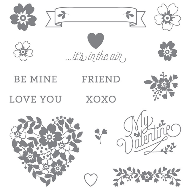 Bloomin Love Photopolymer Stamp Set by Stampin' Up!