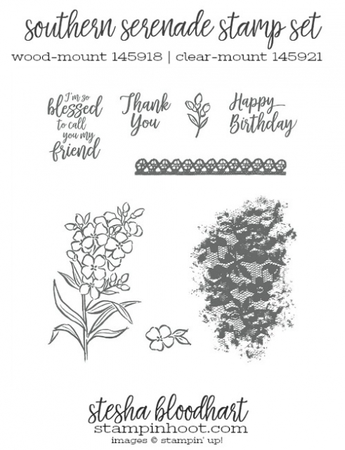 Southern Serenade Stamp Set by Stampin' Up!