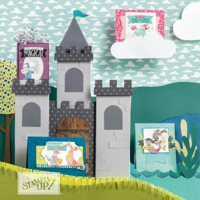 Magical Day Bundle by Stampin' Up! 2018 Occasions Catalog Card Created by Stesha Bloodhart for the Pals Blog Hop #stampinhoot #steshabloodhart
