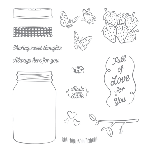 Sharing Sweet Thoughts Stamp Set