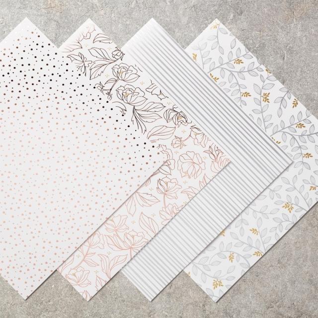 Springtime Foils Designer Series Paper