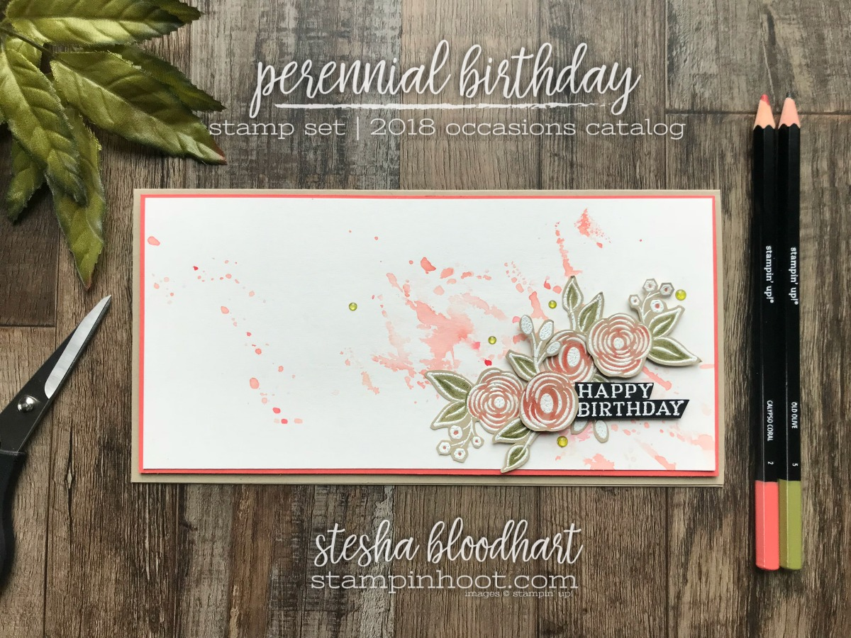 Perennial birthday card case the designer gdp128 stampin hoot perennial birthday stamp set from the stampin up 2018 occasions catalog for gdp128 case bookmarktalkfo Gallery